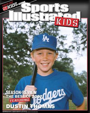 [45] 1-8x10 Sports Illustrated KIDS Magazine Cover